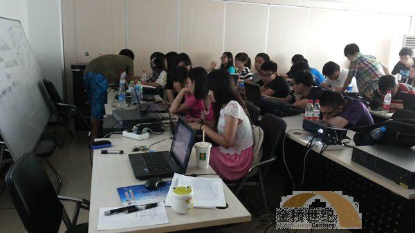 金桥世纪为联合大学学生开展实训课程
