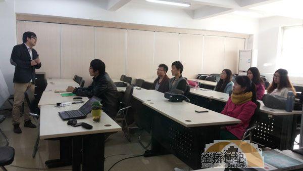 金桥为联合大学研究生讲授实训课程